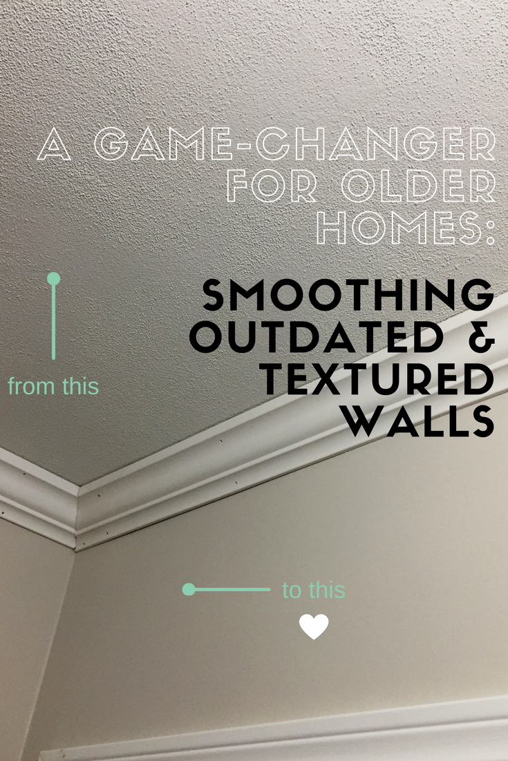 Smoothing Outdated Textured Walls Textured Walls Remove Textured Ceiling Painting Textured Walls