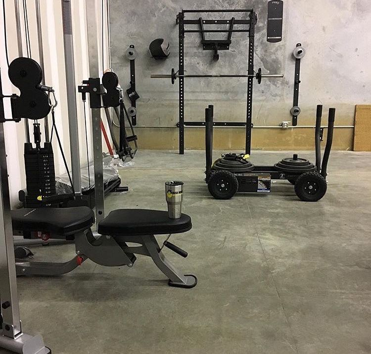 Gainz garage shred shed home gym haven what would you name your
