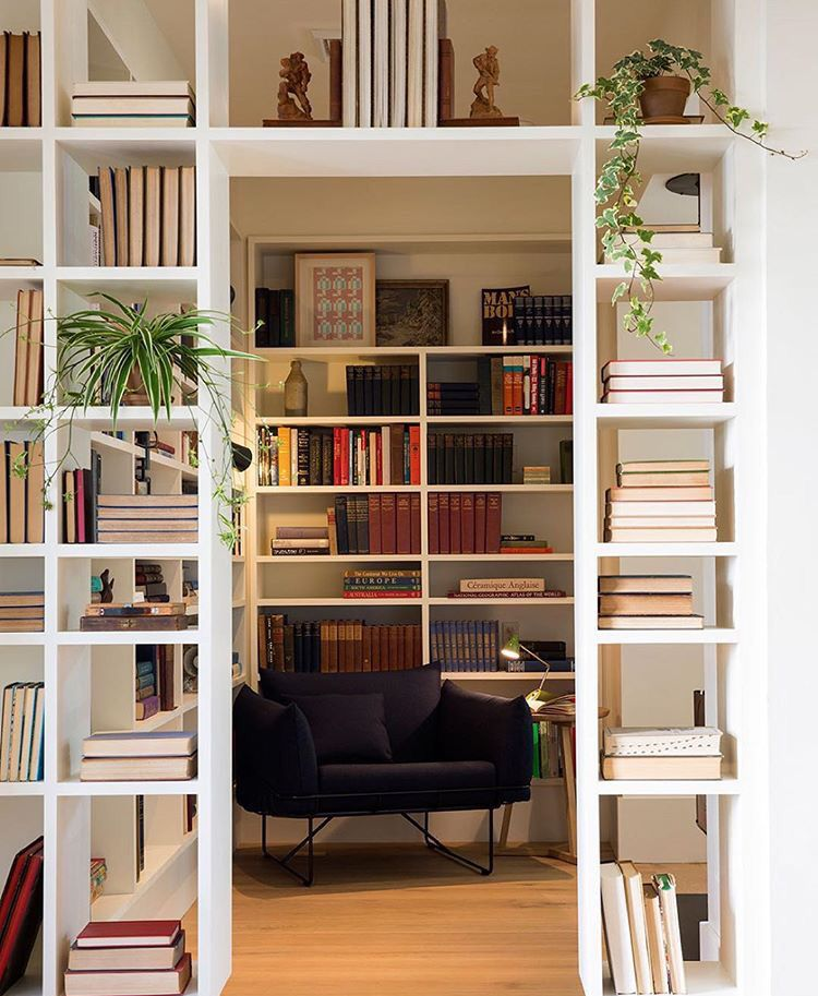 Bookshelf Reading Room Decor Living Parion