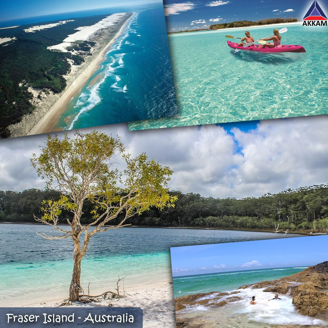 Fraser Island Australia: Fraser Island In Queensland, Australia Is The Largest Sand