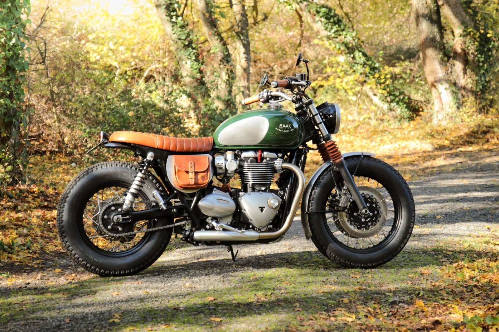 Baak Motorcycles Custom Triumph Bonneville T120 Awesome And