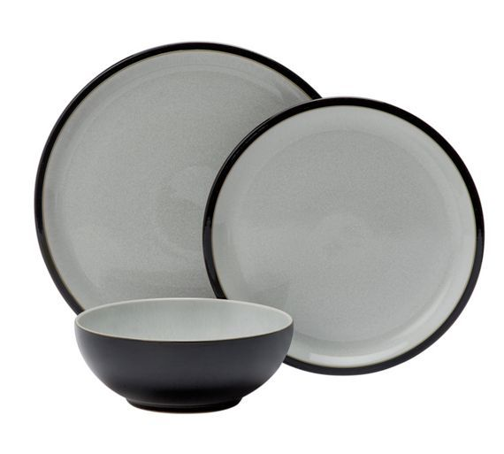 Buy Denby 12 Piece Stoneware Dinner Set - Black Pepper at Argos.co.uk  sc 1 st  Pinterest & Buy Denby 12 Piece Stoneware Dinner Set - Black Pepper at Argos.co ...