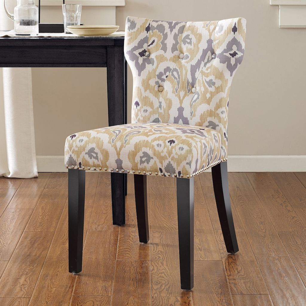 Madison Park Emilia Tufted Back Dining Chair (With Images