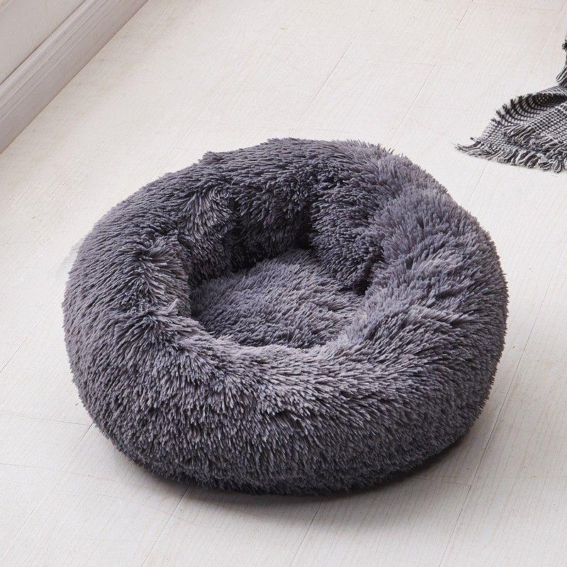 Long Plush Faux Fur Pet Dog Cat Bed in 2020 Soft dog