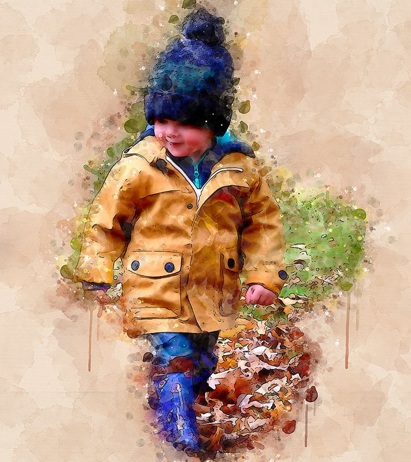Watercolor Masterpiece Photoshop Action Masterpiece
