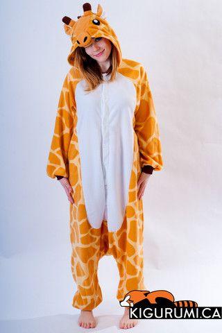 2f763b121c Giraffe Kigurumi Onesie