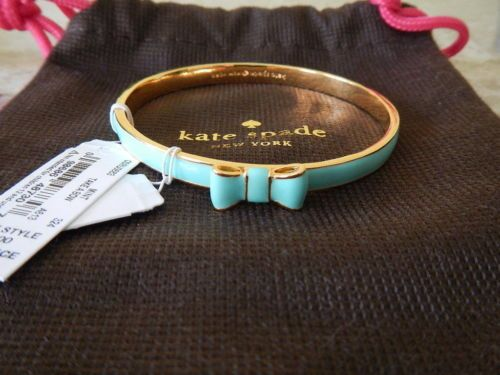 Details About Kate Spade Take A Bow Enamel Skinny Bangle