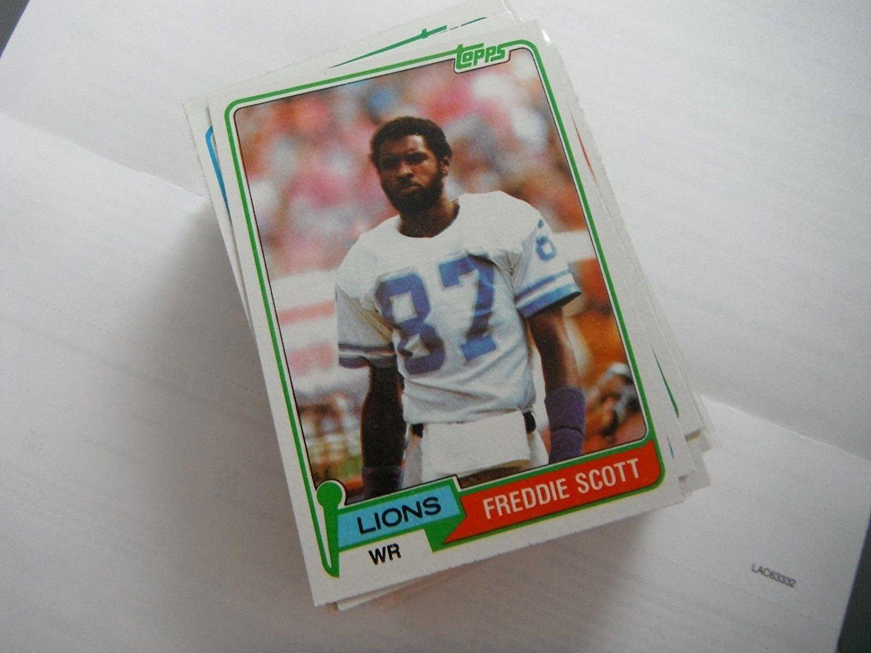 Freddie Scott 1981 Topps Football Card 463 Near Mint