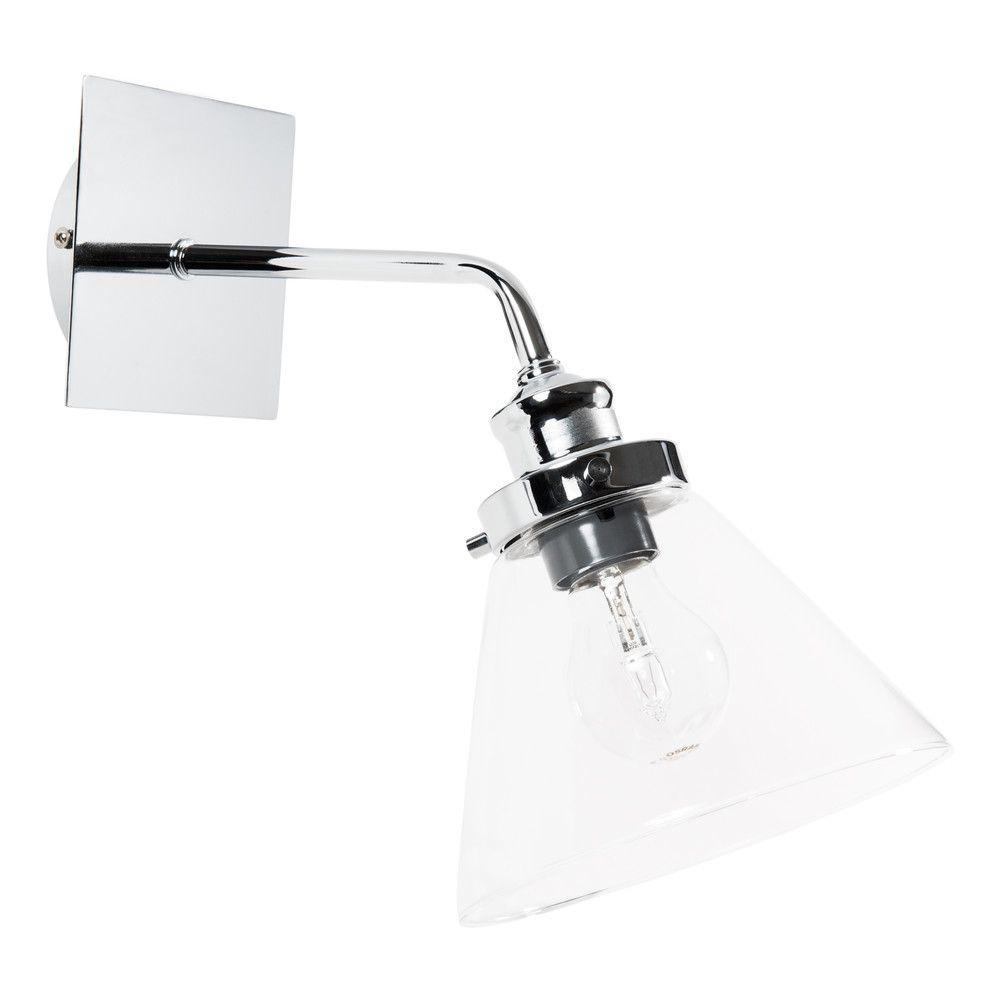 applique en verre h 32 cm brocanteur salle de bain 2eme. Black Bedroom Furniture Sets. Home Design Ideas