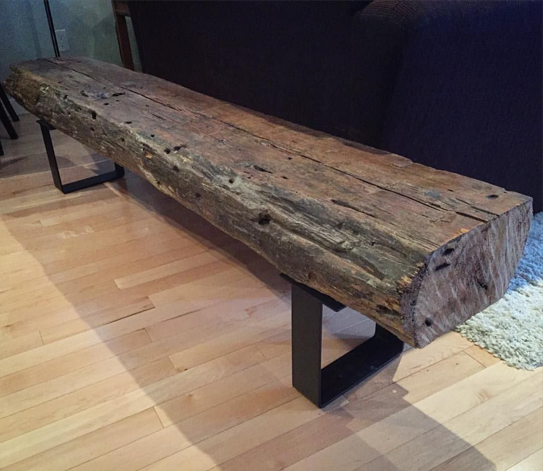 """R.U.F. on Instagram: """"A new bench all set up in a client (/friend's) place. These things go well with pretty much any decor/style. #rustic #urban #furniture…"""" -  A new bench all set up in a client (/friend's) place. These things go well with pretty much any d - #ArchitectureDiagrams #bench #client #ConceptDiagram #decorstyle #friend #friends #furniture #instagram #place #PresentationBoards #pretty #PublicSpaces #RUF #rustic #set #StreetFurniture #these #things #urban #UrbanFurniture"""
