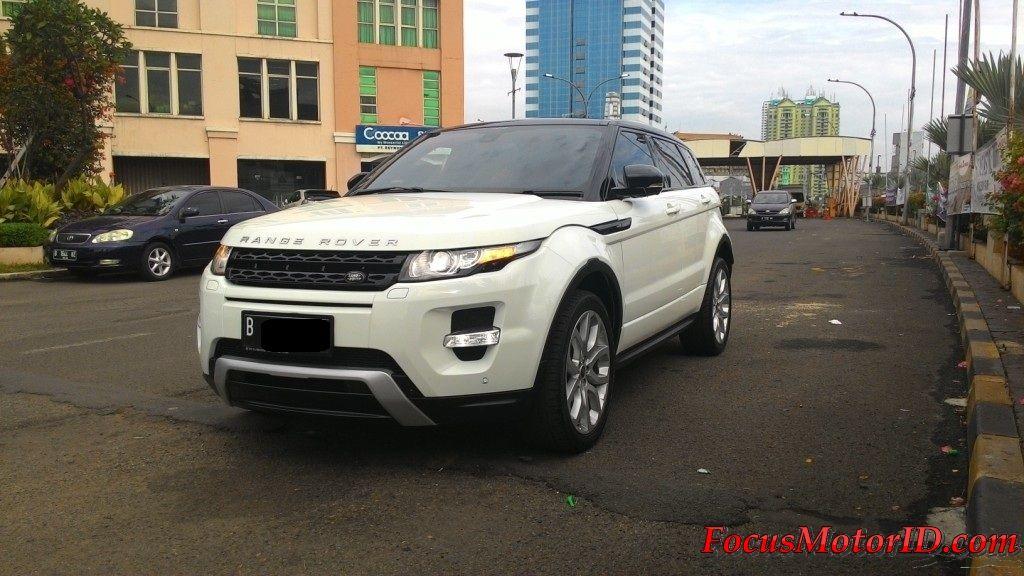 Range Rover Evoque 2.0 Dynamic Luxury Pemakaian 2014