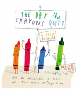 """The Wall Street Journal...""""Fresh and funny. Oliver Jeffer's quirky, joyful illustrations convey the strength and comedy of the crayon's sentiments..."""" Who knew crayons could be so funny? Recommended for children 4-8."""