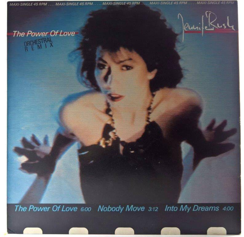 Jennifer Rush The Power Of Love Orchestral Remix Plyty Winylowe Rock Jazz