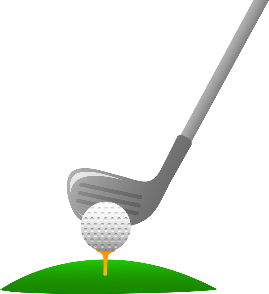 15++ Golf clubs clipart black and white info