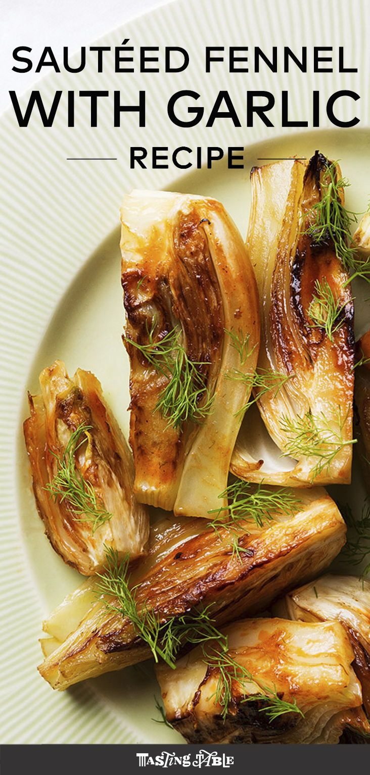 Sautéed Fennel With Garlic