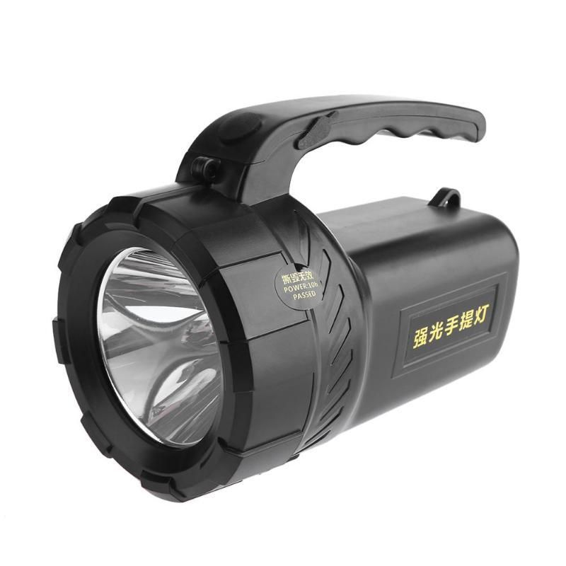Rechargeable flashlight led spotlight convenient searching