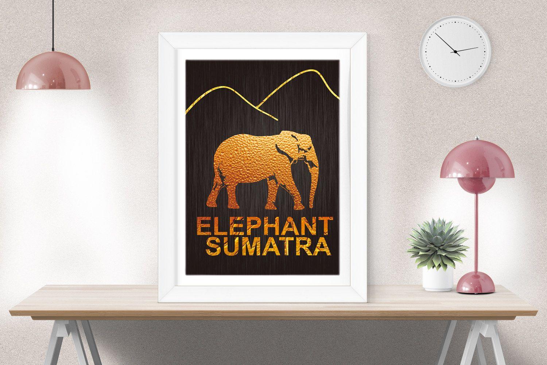 Nursery wall art, Elephant Print, Nursery Animal Prints, Nursery decor, Animal…
