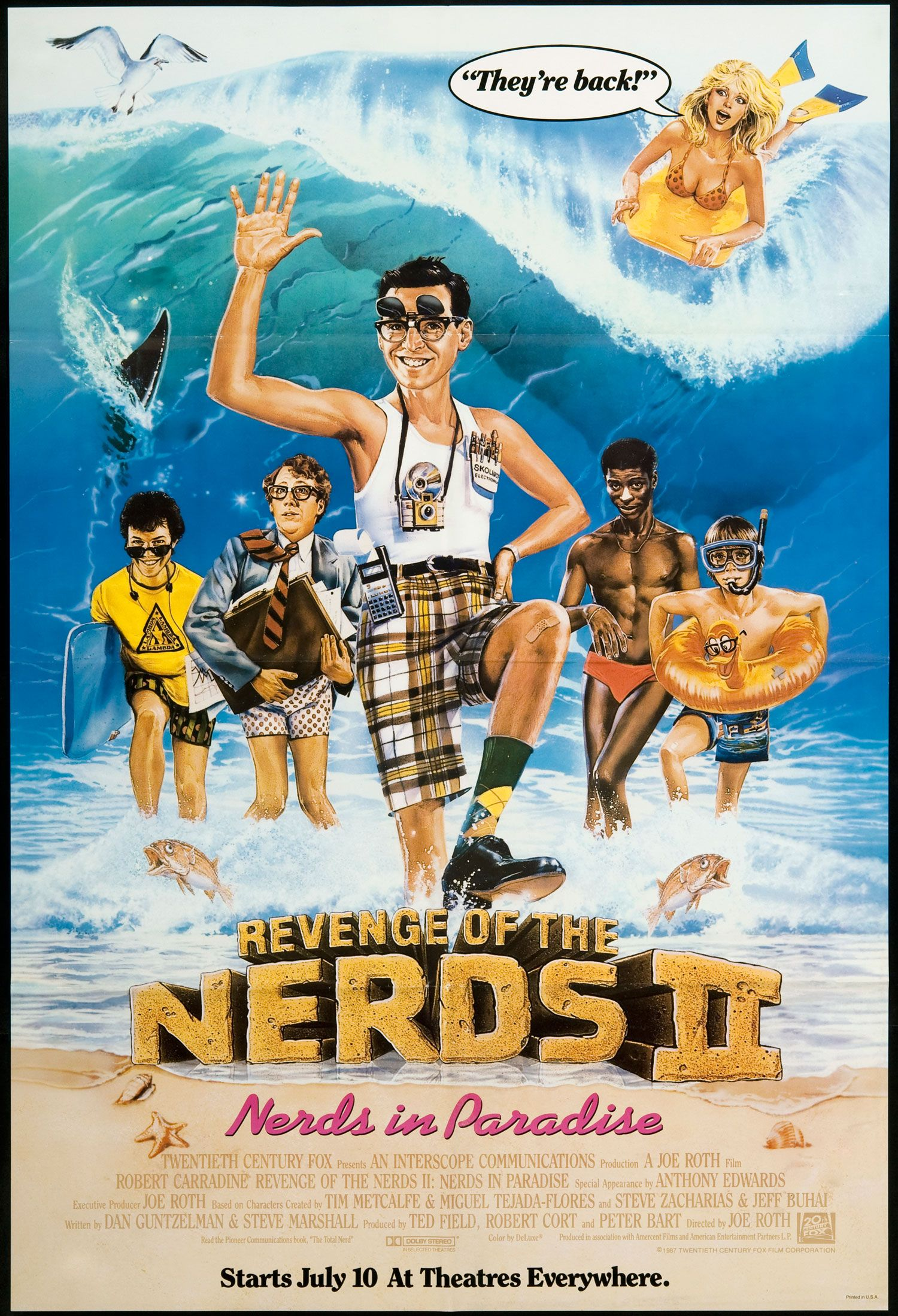 Revenge Of The Nerds Ii Nerds In Paradise 1987 Revenge Of The