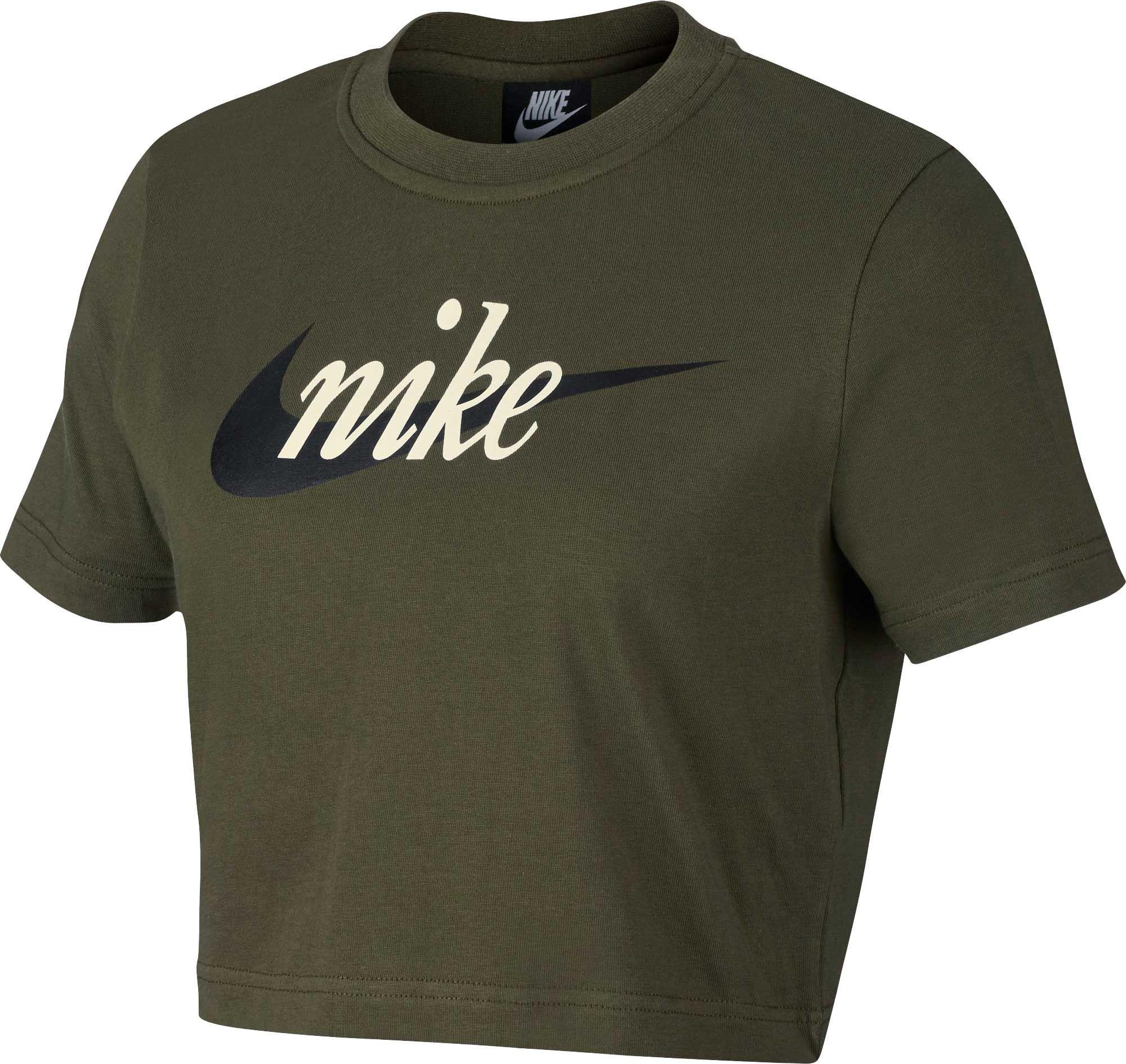 eeda4da7 Nike Women's Sportswear Crop T-Shirt in 2019 | Products | Nike ...