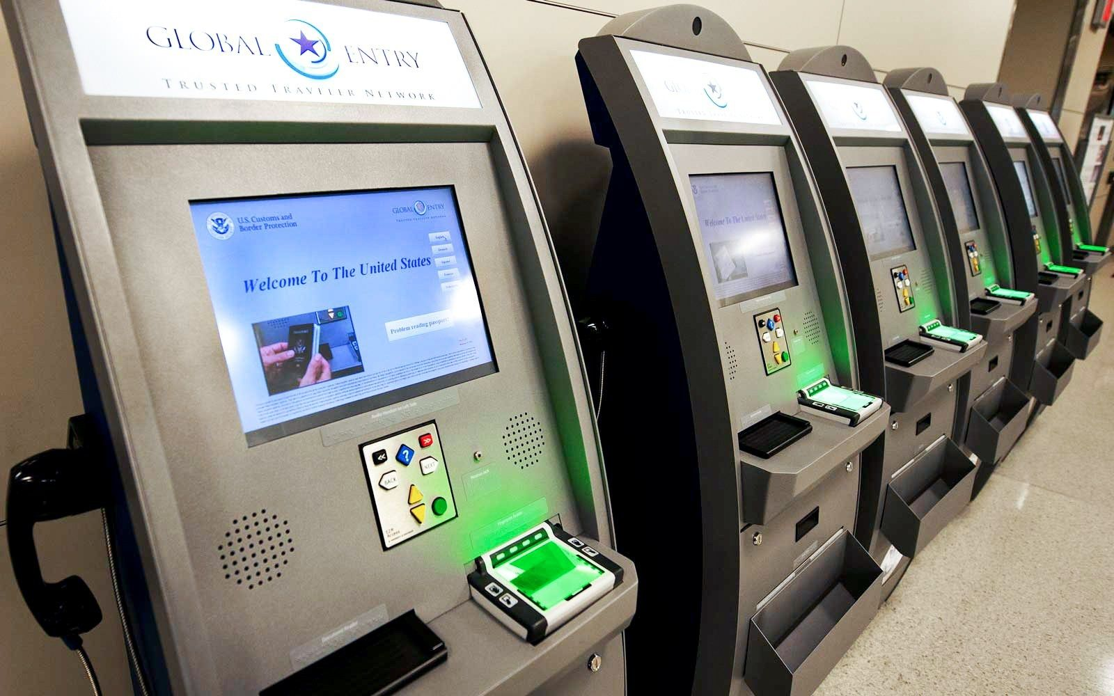 In the summer of 2014 i signed up for global entry it