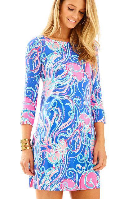 98ae428256ec4e UPF 50+ Sophie Dress Iris Blue Pop Up Jellies Be Jammin: $158 Lilly Pulitzer