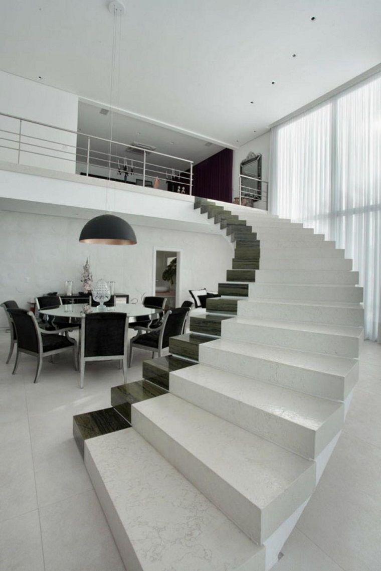 Escaleras de interior modernas - 50 diseños que marcan tendencia ...