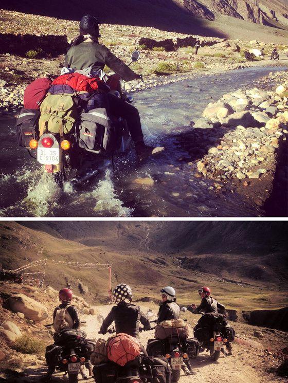5 filles à moto à l'assaut de l'Himalaya