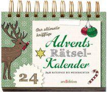 Der Ultimativ Knifflige Advents Rätsel Kalender 24 X Ratespaß Bis