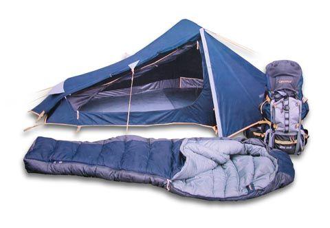Sleeping Bag Tent Combination Columbus Navigator Tech