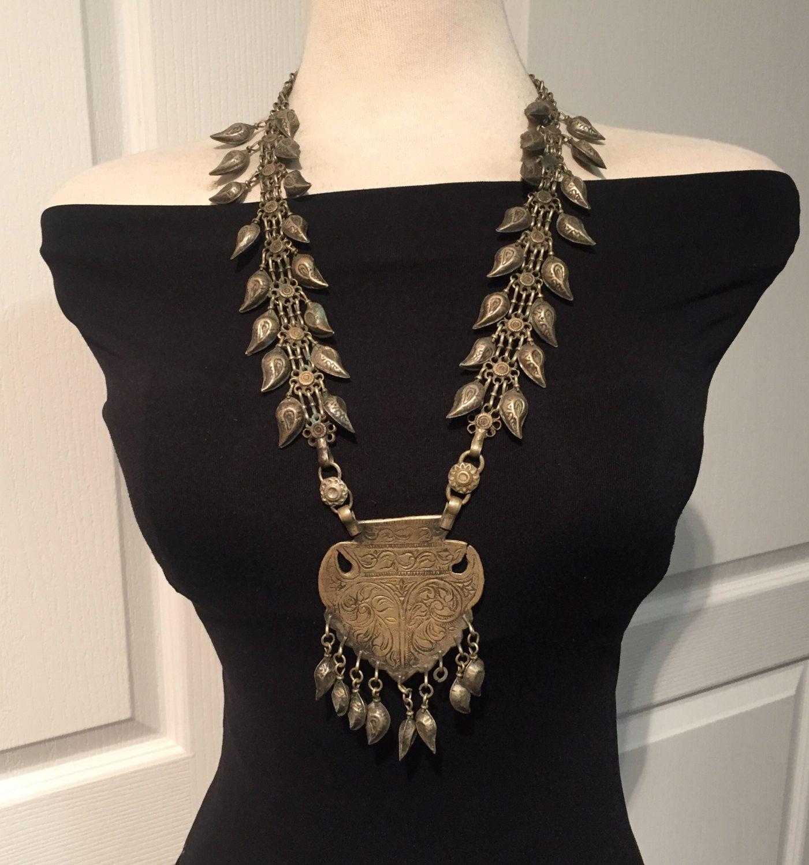 Antique necklacekuchi jewellerykuchi necklaceafghan