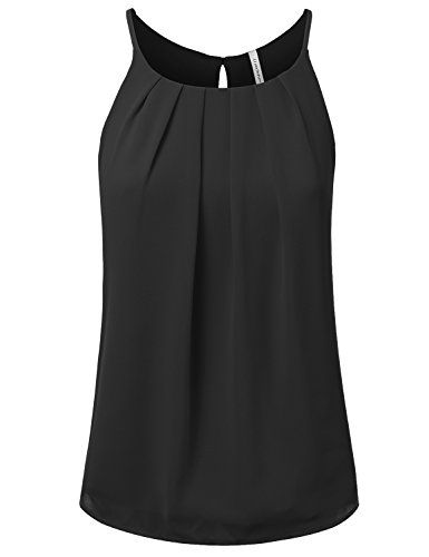 JJ Perfection Women's Round Neck Front Pleated Chiffon Ca... https://www.amazon.com/dp/B01D94NPSM/ref=cm_sw_r_pi_dp_x_pnATybRB87G4M