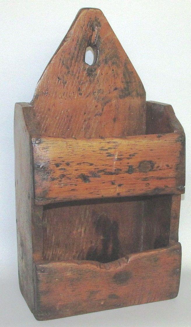 Wooden wall box.   Sold  Ebay   425.00