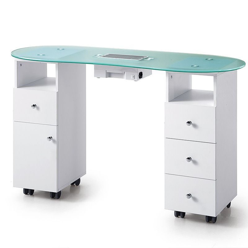 Nail Table With Dust Collector Manicure Table Manicure