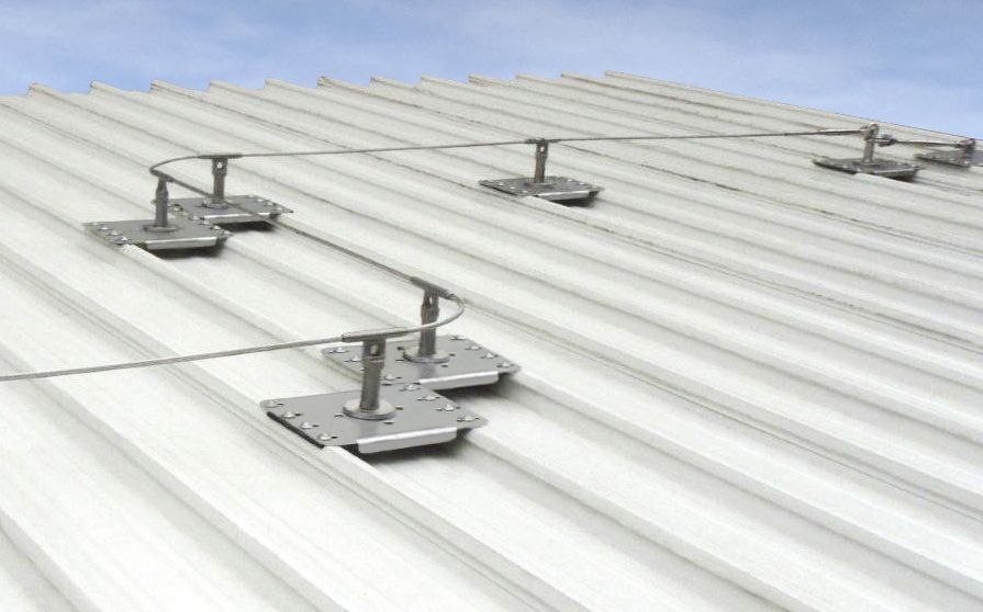 Get Your Roofing Anchors From Ris We Provide An Anchor Point For Fall Arrest Systems On Roofs For Mainten Anchor Systems Roof Access Ladder Fall Arrest System