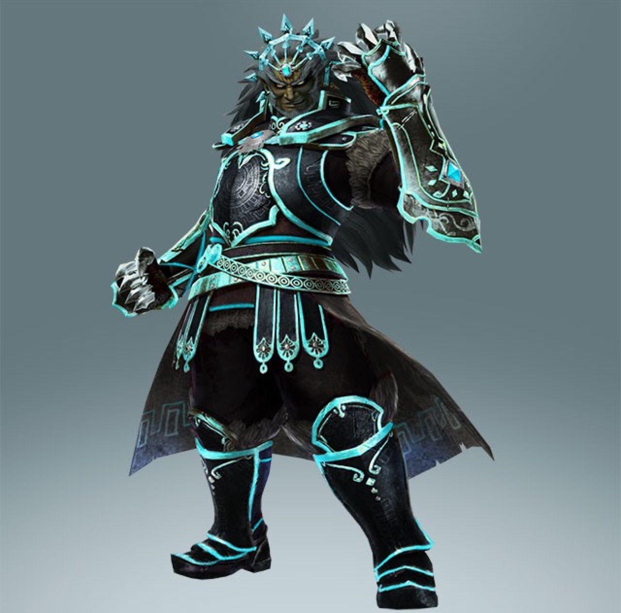 Ganondorf S New Costume For The Great Sea Map Hyrule Warriors Legend Of Zelda Legend