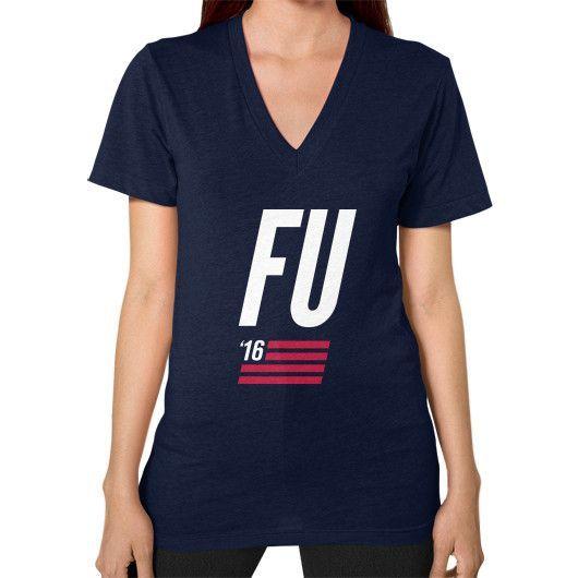 FU 2016 V-Neck (on woman) Shirt