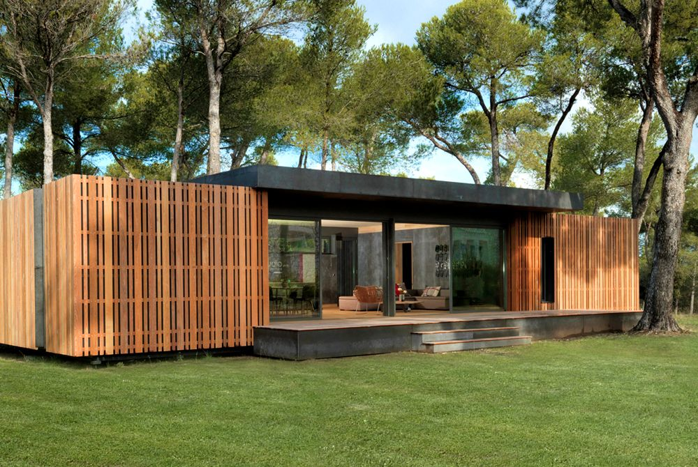 This Lego-style home can be built in a few weeks with just a - avantage inconvenient maison ossature metallique