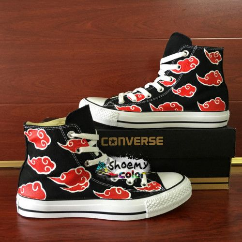 Pin by Mariana Faria on Naruto Shoes Converse Hand Painted