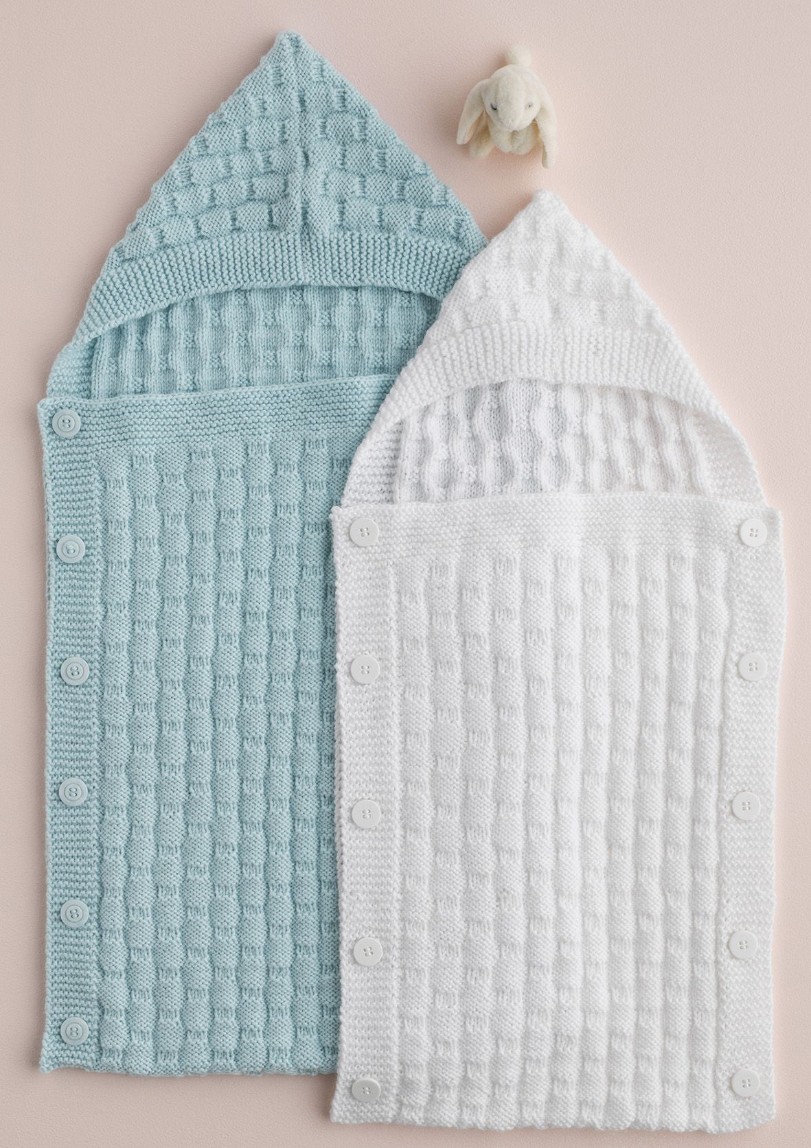 Knitted baby cocoon by Patons Australia | Baby cocoon