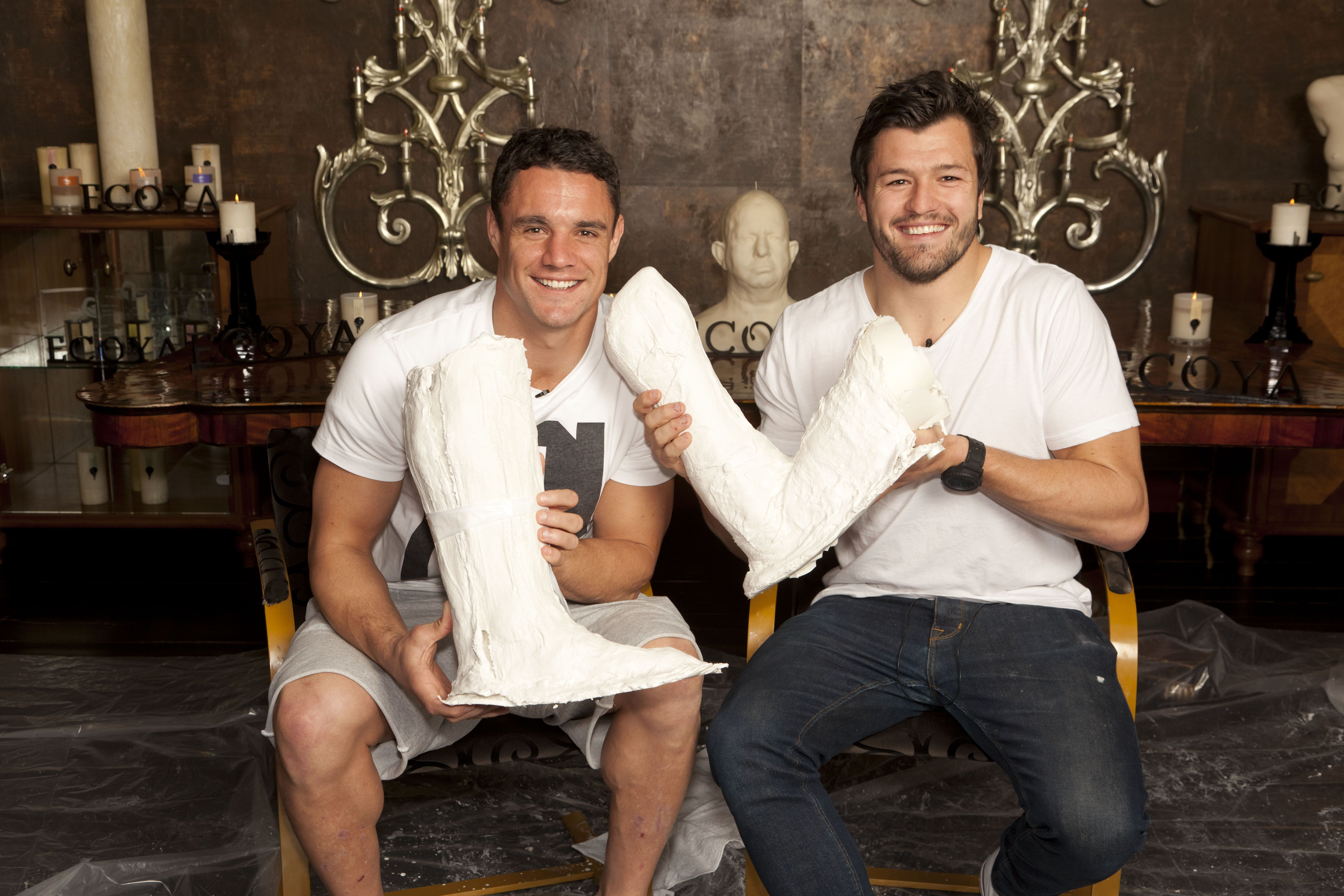 Adam Ashley Cooper and Dan Carter for ECOYA s An Arm & A Leg For