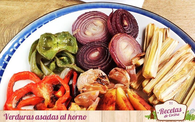 Verduras asadas al horno
