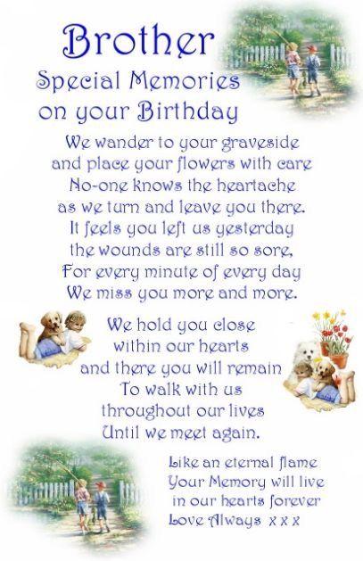 Pin By Kanishka Hettiarachchi On My Brother Birthday Wishes For Brother Brother Birthday Quotes Brother Birthday