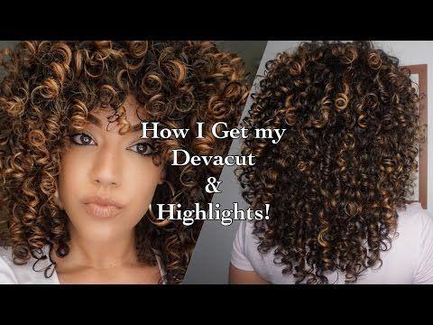 How I Get My Devacut Amp Pintura X2f Balayage Highlights Using Olaplex Youtube Highlights Curly Hair Curly Hair Styles Curly Hair Styles Naturally