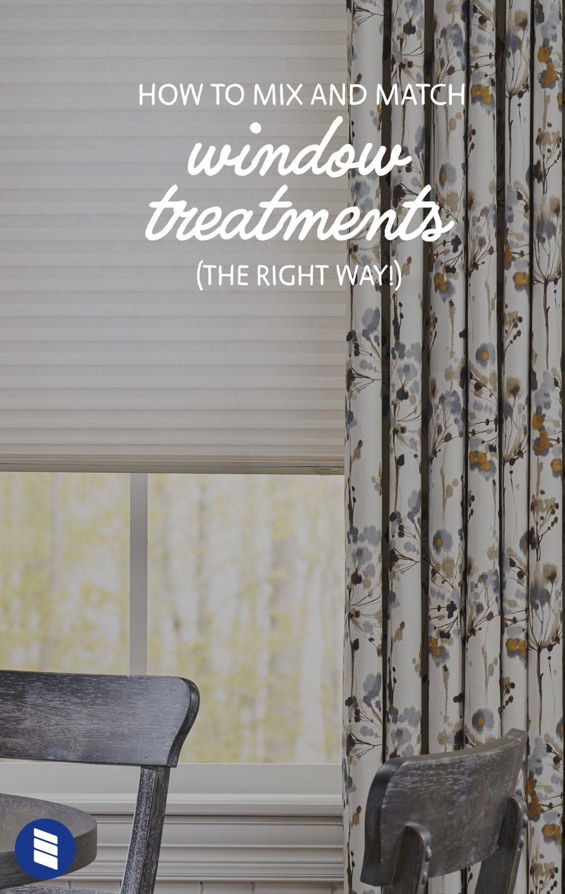 How To Layer Window Treatments Blinds Com Window Treatments Living Room Shutters With Curtains Curtains Over Blinds