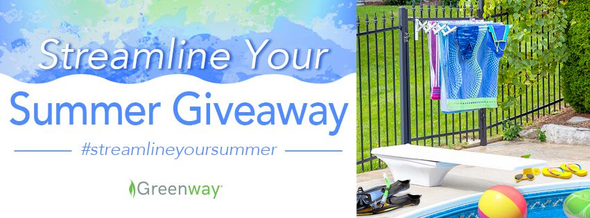 Enter to win an indoor/outdoor drying rack that's as flexible as your summer schedule. #StreamlineyourSummer #summerschedule
