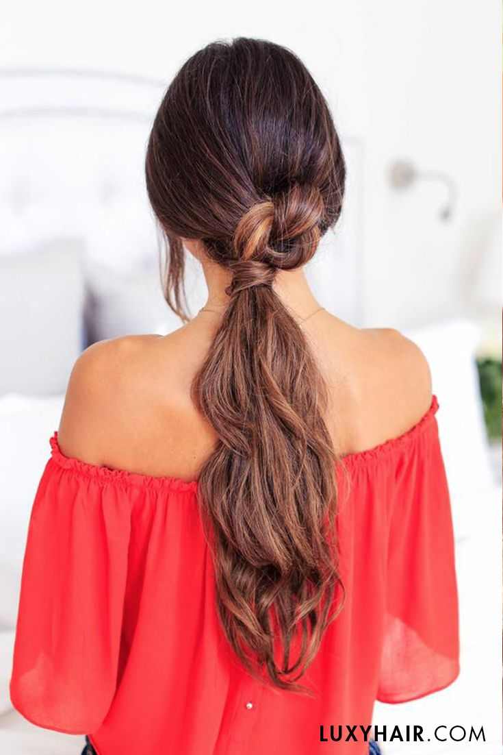 3 Lazy Hairstyles For Lazy Days Womens Hairstyles Hair Styles Lazy Hairstyles