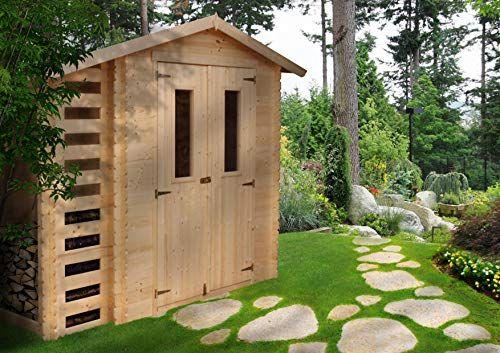 Timbela M386c Abri De Jardin En Bois Exterieur Chalet En Pin D Epicea Bucher 353097 M Jardins En Bois Abri De Jardin Pavillon De Jardin