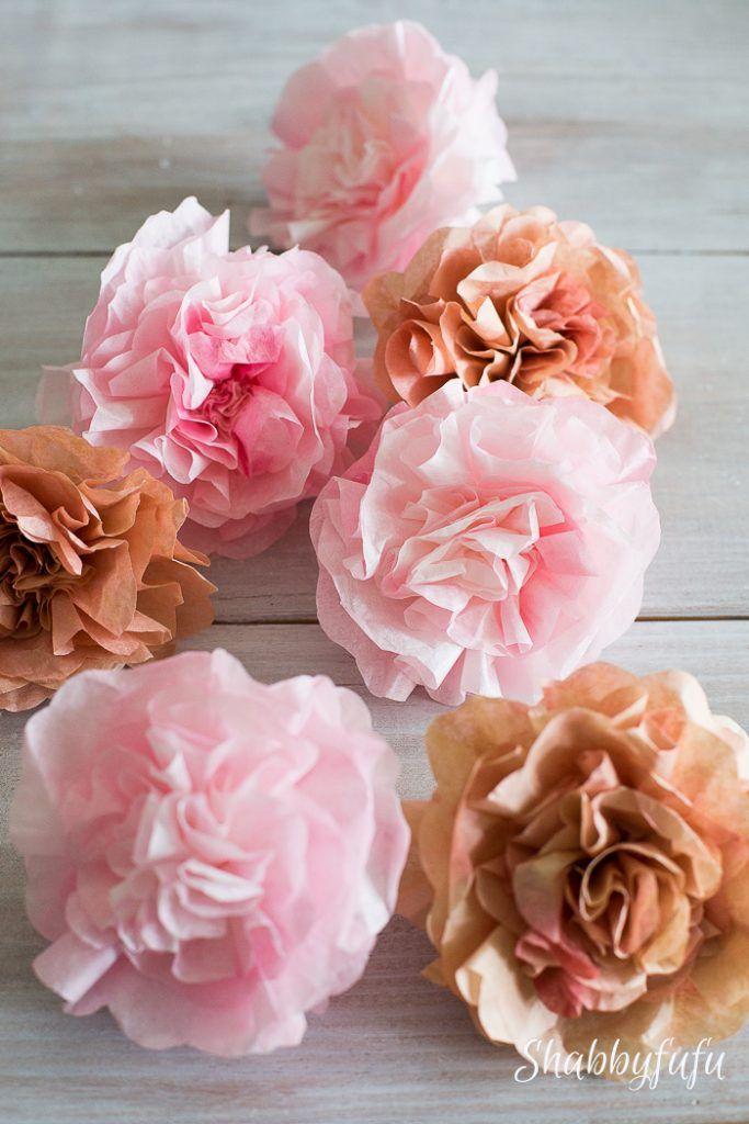 How to make realistic paper garden flowers cards paper art how to make realistic paper garden flowers mightylinksfo