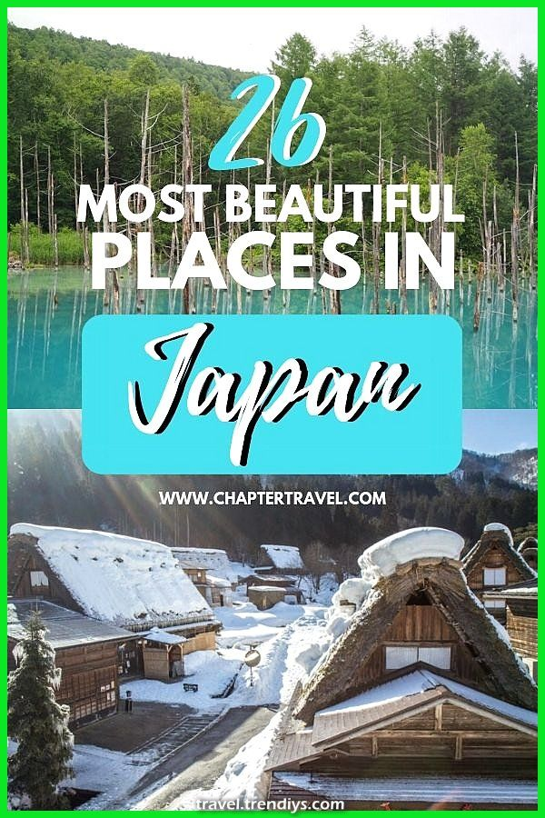 most lovely locations in Japan that you need to embody in your itinerary