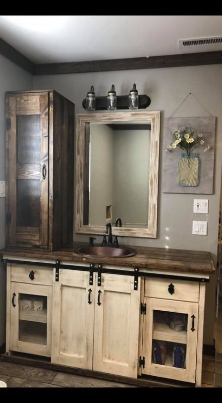 Photo of Sliding barn door bathroom vanity 61+ best ideas